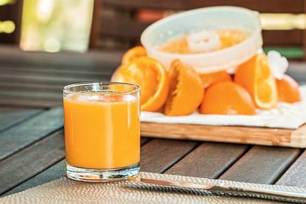 vegetarische Rezepte zum abnehmen orange