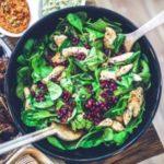 Feldsalat mit roten Linsen